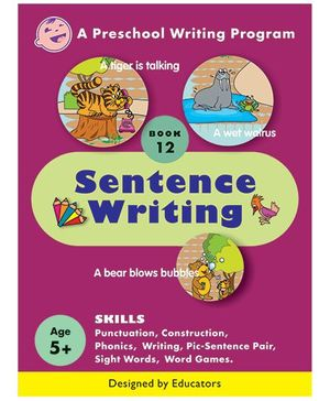 Sentence Writing Book 12 - English