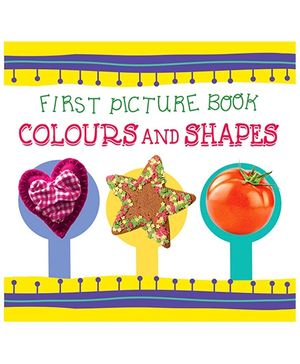 First Picture Book Colour And Shapes - English