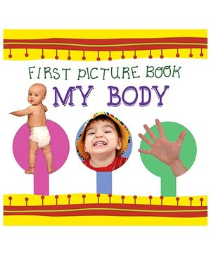 First Picture Book My Body - English