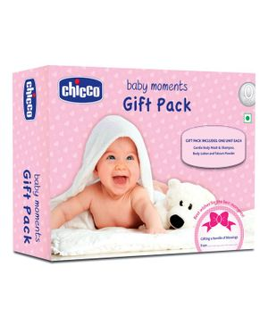 Chicco First Caring Set for Newborns - Pack of 3