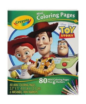 Mini Coloring Pages-Toy Story