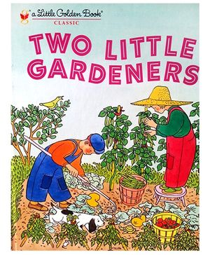 Two Little Gardeners Little Golden Book - English
