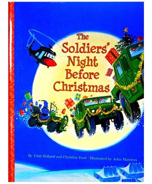 The Soldiers' Night Before Christmas Hardcover - English