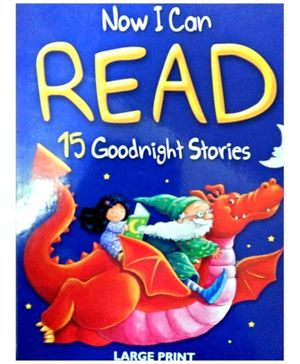 Now I Can Read 15 Goodnight Stories - English