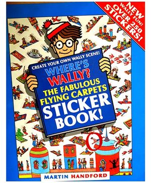 Where's Wally Fabulous Flying Carpets Sticker Book - English