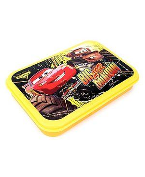Disney Pixar Cars Lunch Box - Yellow