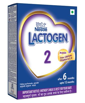 Nestle Lactogen 2 Follow-up Formula Powder - 400 gm