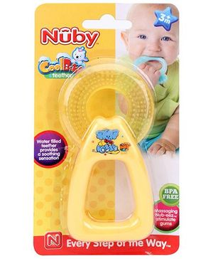 Nuby Cool Bite Teether - Yellow