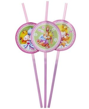 Riethmuller - Sweet Little Princess  Drinking Straws