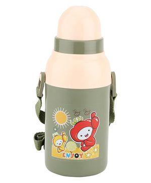 Cello Homeware Insulated Water Bottle Green - 400 ml
