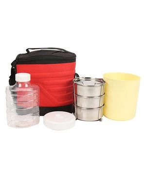 Cello Homeware Lunch Box Pack - Red