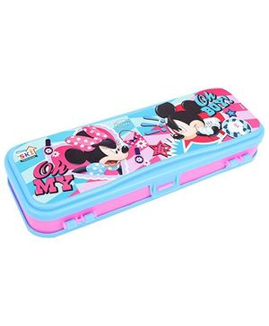 Disney Pencil Box - Pink And Blue