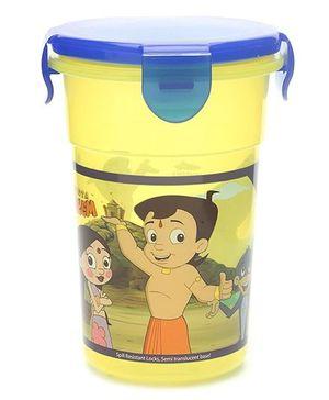 Chhota Bheem Tumbler Yellow And Blue - Capacity 350 ml