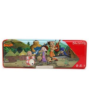 Chhota Bheem Double Sided Magnetic Pencil Box - Red