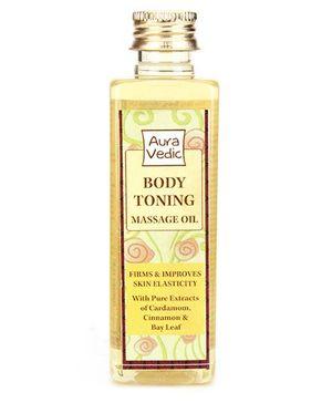 Auravedic Body Toning Massage Oil - 100 ml