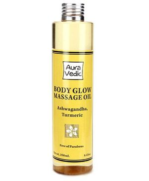 Auravedic Body Glow Massage Oil - 250 ml