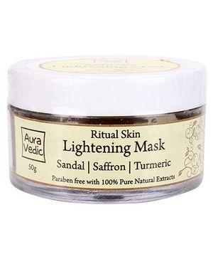Auravedic Ritual Skin Lightening Mask - 50 gm