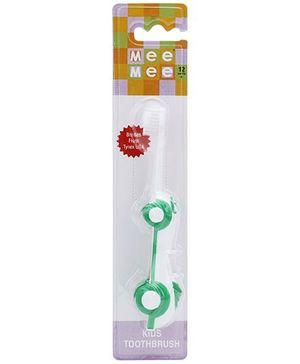 Mee Mee Car Shaped Kids Toothbrush - Green