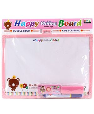 Avis Double Sided Happy Writing Board - Assorted Colours
