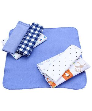Ben Benny Napkins Set of 8 Solid Color - Blue