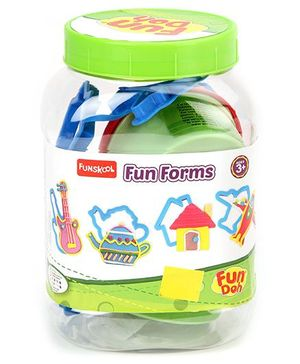 Fun Doh Funskool Fun Form Activity Kit - Multi Color