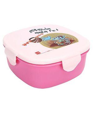 Cello Homeware Lovely Lunch Box Govinda Print - Pink