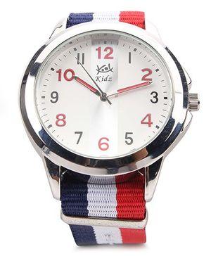 Kool Kidz Analog Wrist Watch - White Blue And Red
