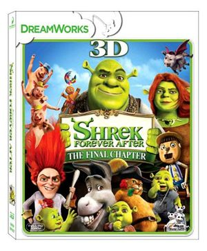 Shrek Forever After 3D Blu-ray Disc - English