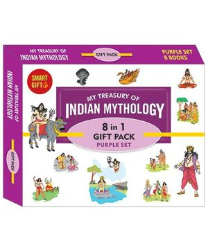My Treasury Of Indian Mythology 8 In 1 Gift Pack - English