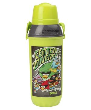 Angry Birds Sipper Water Bottle With Screw Cap Green - 610 ml