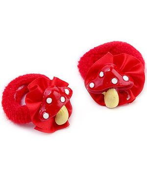 Rubber Band Strawberry Design - Red