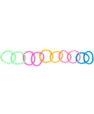 Rubber Bands Set of 10 - Multicolour