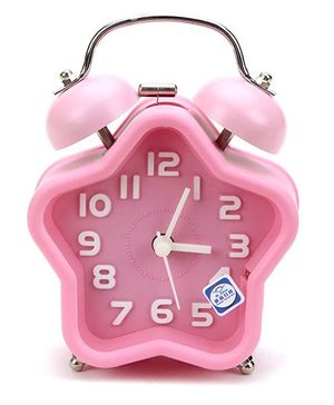 Star Shape Alarm Clock - Pink