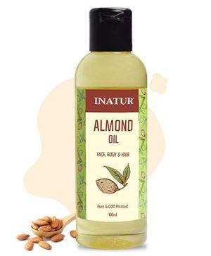 Inatur Sweet Almond Oil - 100 ml