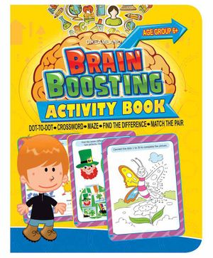 Brain Boosting Activity Book - English