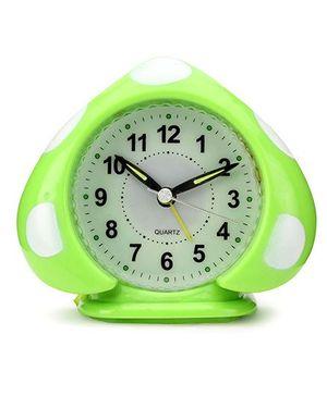 Polka Dots Alarm Clock - Green And White