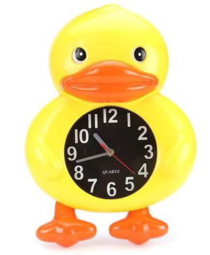 Duck Shape Alarm Clock - Yellow And Orange