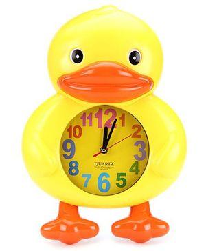 Duck Shape Alarm Clock - Yellow