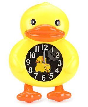 Duck Design Alarm Clock - Yellow