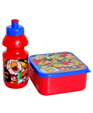 Angry Birds - Red Lunch Box with Water Bottle
