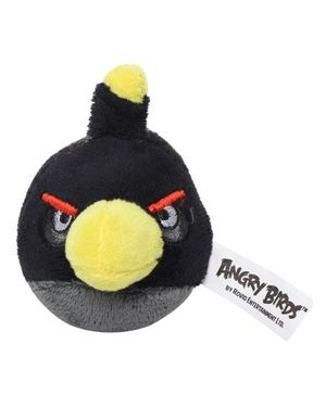 Angry Birds - Flingers Black 2 Inch Soft Pencil Toppers