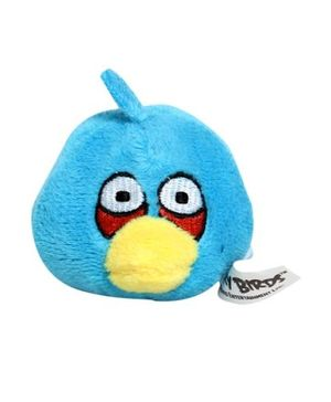 Angry Birds - Flinger Soft Blue Pencil Topper