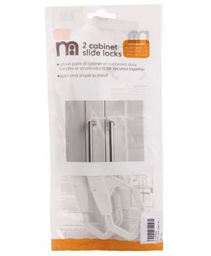 Mothercare Cabinet Slide Lock - Pack of 2
