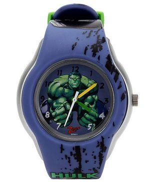 Titan Zoop Hulk Print Analog Wrist Watch Round Shape - Purple