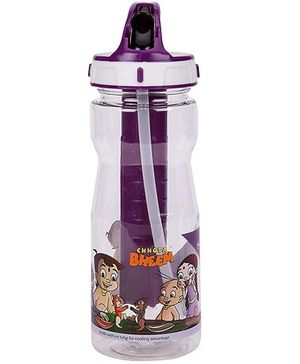 Chhota Bheem Cool Sipper Water Bottle Purple - 500 ml