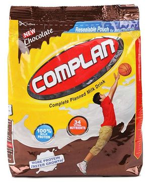 Complan Resealable Pouch Chocolate Flavour - 450 gm