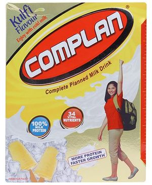 Complan Kulfi Flavour Refill Pack - 400 gm