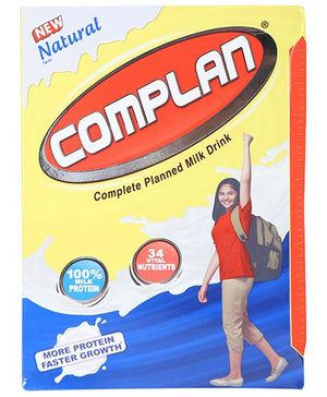 Complan Natural Refill Pack - 500 gm