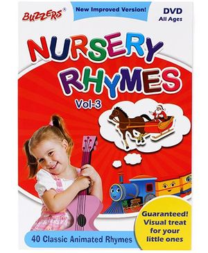 Buzzers Nursery Rhymes 40 Classic Animated Rhymes Voume 3 DVD - English