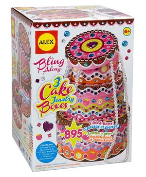 Alex Toys Bling Along 3 Cake Jewellery Box